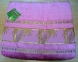 Простынь махровая ТМ Hanibaba бамбук розовая