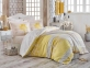 Постельное белье ТМ Hobby Exclusive Sateen Elsa желтое евро-размер