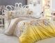 Постельное белье ТМ Hobby Poplin Fiesta желтый евро-размер