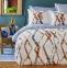 Постельное белье ТМ Karaca Home ранфорс Shaggy Mavi евро-размер