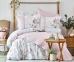 Постельное белье ТМ Karaca Home ранфорс Rosa pembe евро-размер