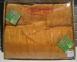 Простынь махровая ТМ Hanibaba бамбук золотая
