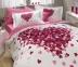 Постельное белье ТМ Hobby Poplin Juana розовое евро-размер