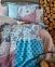 Постельное бельё ТМ Karaca Home ранфорс Leily евро-размер