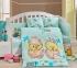 Детский постельный комплект ТМ Hobby Lovely мятный