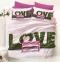 Постельное белье ТМ Luoca Patisca Sateen 3D Love евро-размер