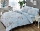 Постельное белье ТМ TAC ранфорс Beatrice Blue евро-размер