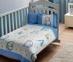 Детский постельный комплект ТМ TAС Sweet Animals Baby Blue