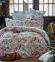 Постельное бельё ТМ Karaca Home ранфорс Toledo Turkuaz евро-размер