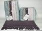 Набор полотенец из 6 штук ТМ Sikel Sacakli Delux Cotton Mikanos