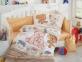 Детский постельный комплект ТМ Hobby Tombik желтое