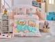 Детский постельный комплект ТМ Hobby Lovely персиковый