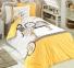 Постельное белье ТМ Hobby Poplin Smile желтый полуторное