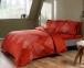 Постельное белье сатин-digital ТМ TAC Caledon Red евро-размер