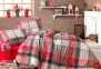 Постельное бельё ТМ First Choice flannel Aydan евро-размер