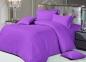 Постельное бельё ТМ Love You страйп-сатин фиолетовый 28