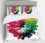 Постельное белье ТМ Love You микрофибра JKH 1116 евро-размер
