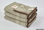 Полотенце махровое ТМ Arya Rancho коричневое