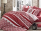 Постельное белье ТМ Hobby Exclusive Lisa красное евро-размер