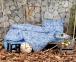 Постельное белье ТМ Irya фланель Salamis евро-размер