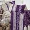 Постельное белье ТМ Clasy сатин Sian фиолетовый евро-размер