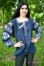 Вышиванка женская Волшебна птица с белой вышивкой 1037.1