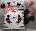 Постельное белье ТМ TAC ранфорс Mickey & Minnie Amour евро-размер
