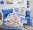 Детский постельный комплект ТМ Hobby Tombik голубое