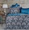 Постельное бельё ТМ Karaca Home сатин Sahra Turkuaz евро-размер