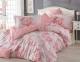 Постельное белье ТМ Hobby Poplin Vanessa розовое евро-размер