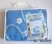 Одеяло детское ТМ Ярослав в подарочной упаковке 45006 синее