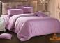 Постельное бельё ТМ Love You страйп-сатин светло-фиолетовый